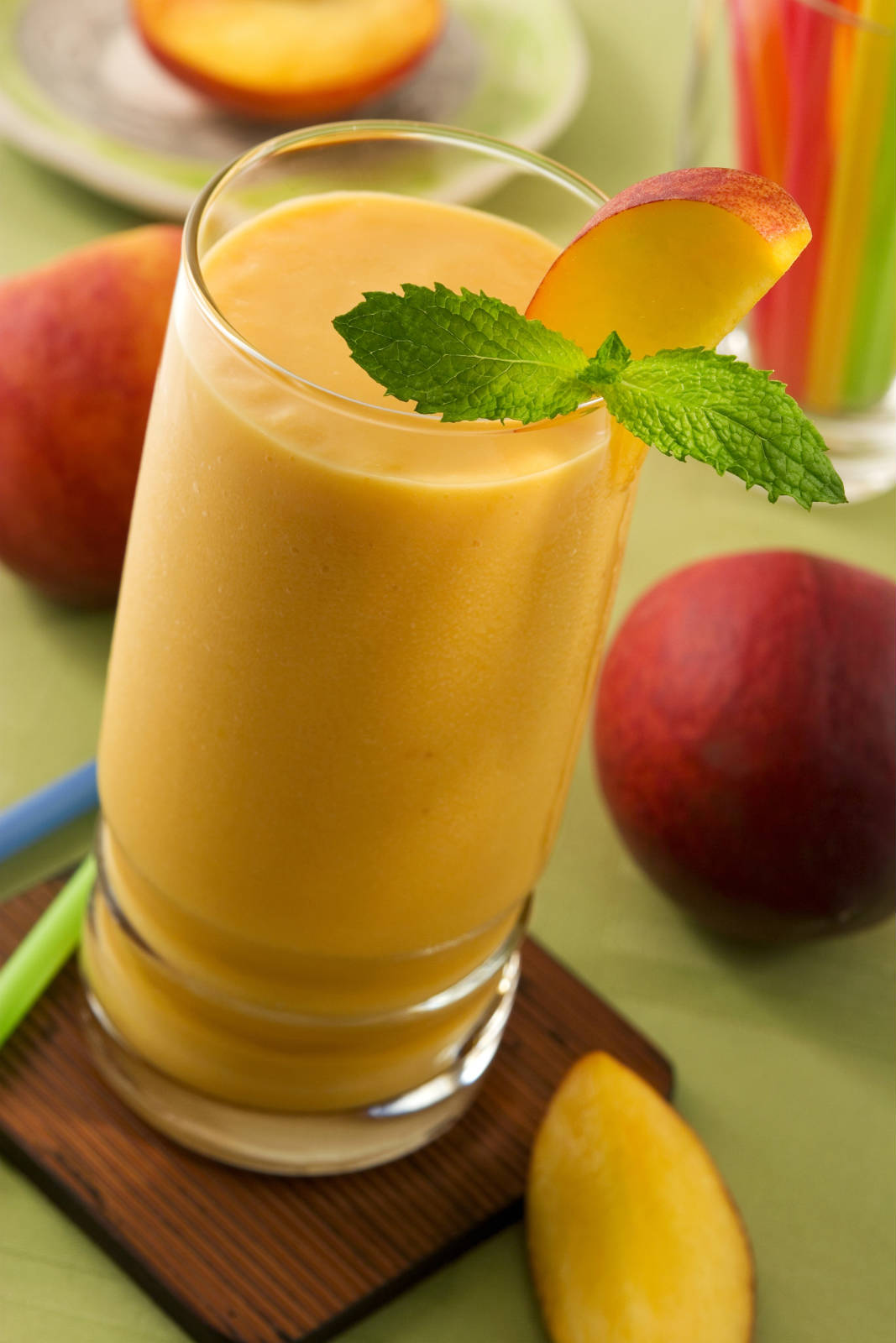 Vegan Desserts - Fresh Peach Shake