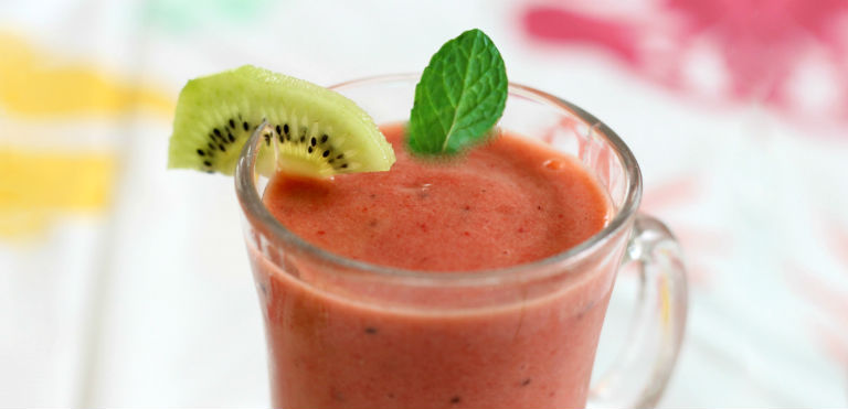 Immune System Booster - Kiwi Grapefruit with Mint Smoothie