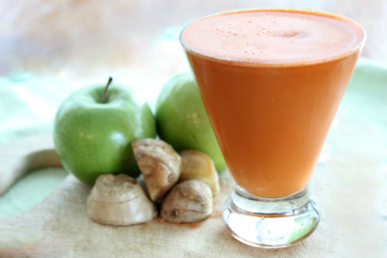 Fresh Juice Recipe for No More Sinuses 1