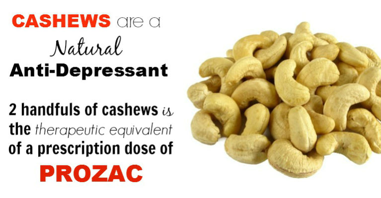 Cashew Nutrition the Best Treatment for Depression without Medication