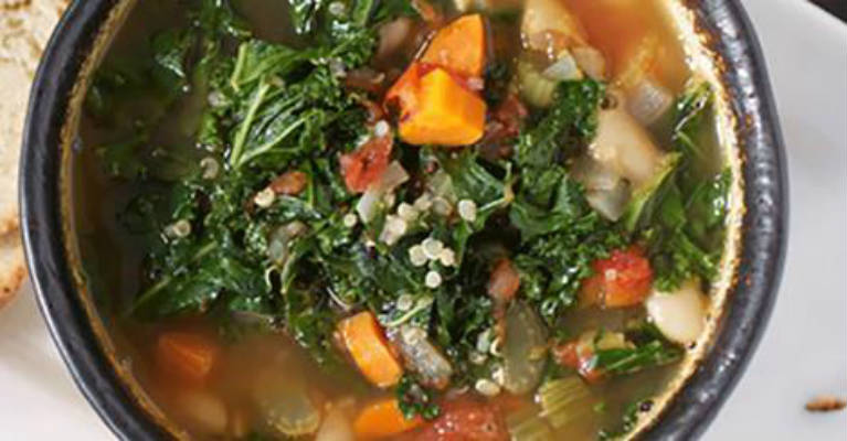 An Amazing Kale Soup Recipe That Captures All It's Health Benefits