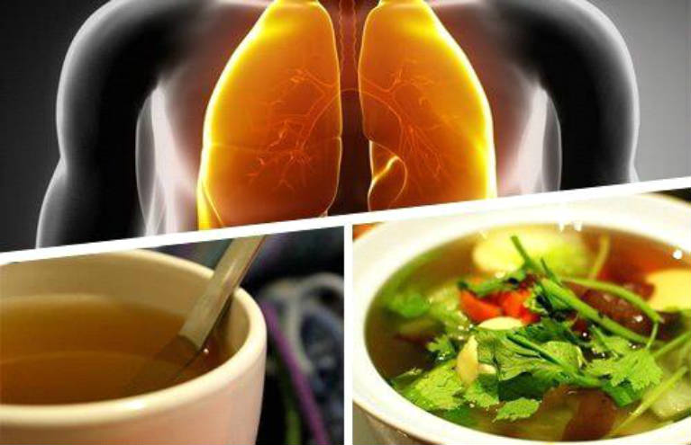 Natural cough syrup to eliminate phlegm from the lungs