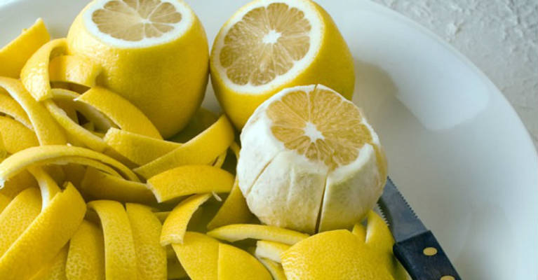 Lemon Peel Heals Joints Recipe after Which You Will Wake Up Without Pains