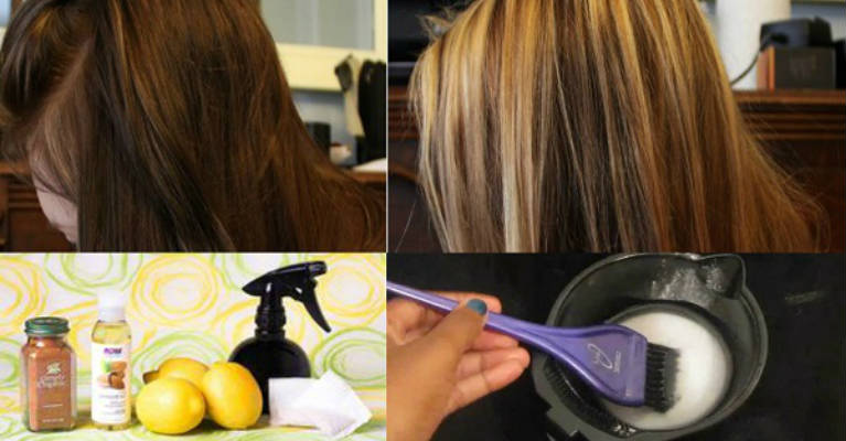 Highlight Your Hair Naturally and Save Tons of Money on Hair Salons. Amazing Results!
