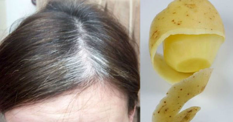 Get Rid of Gray Hair Using only 1 Ingredient!