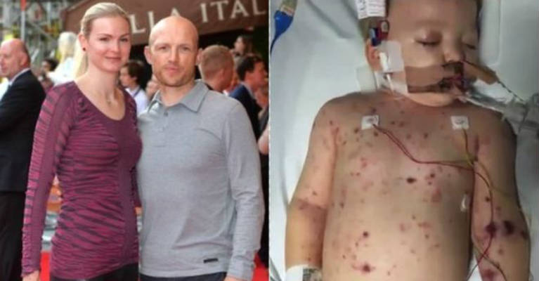 Matt Dawson reveals 'two weeks of hell' over son's meningitis C