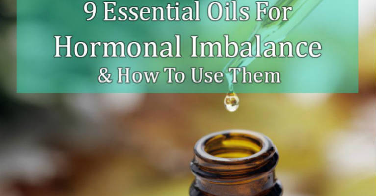 9 Essential Oils For Hormonal Imbalance & How To Use Them