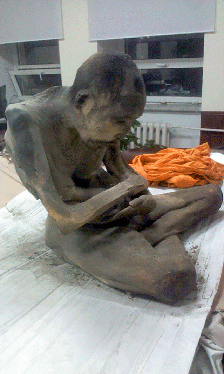 Mummified Monk Is 'Not Dead' and in Rare Meditative State, Says Expert