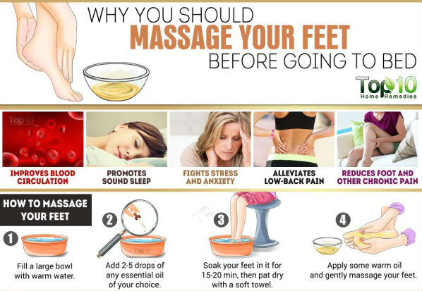 Why You Should Massage Your Feet before Going to Bed 1