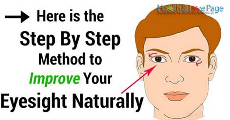 Here is the Easy Step By Step Method to Improve Your Eyesight Naturally!