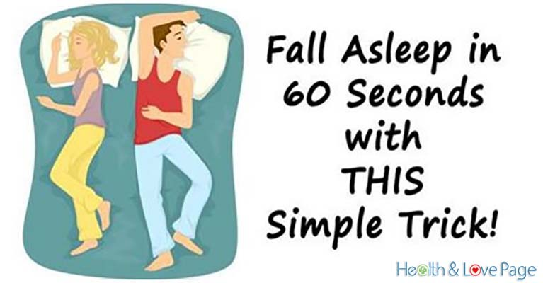 Fall Asleep in 60 Seconds with THIS Simple Trick!
