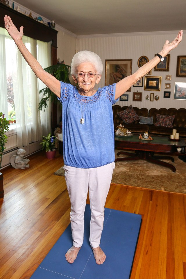 This 85-Year-Old Woman Had A Hunchback For Decades. THIS Fixed It 2