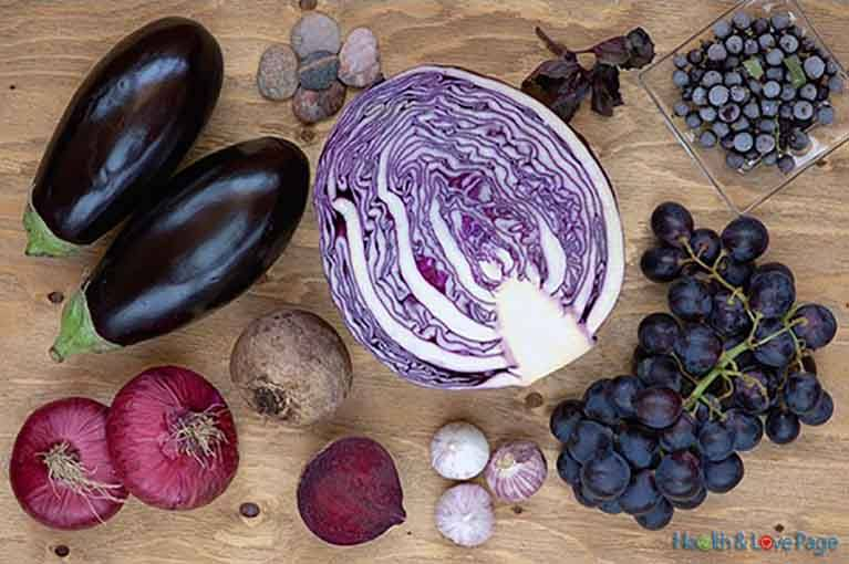 Benefits of Eating More Purple Vegetables and Fruits