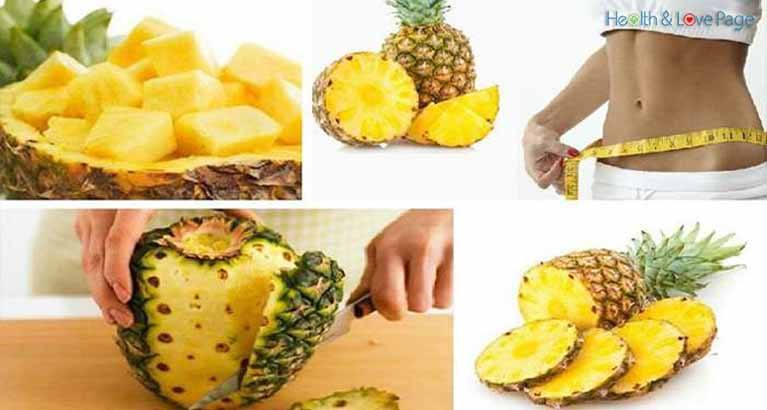 Pineapple Diet to Lose Five Kilos in Three Days