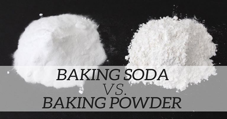 A Must Know – Here's the Difference Between Baking Powder and Baking Soda