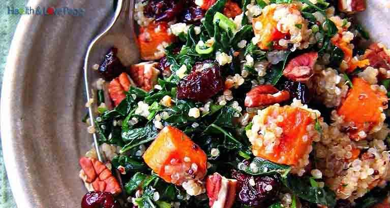 The Ultimate Fat Burning Salad Recipe with Quinoa, Sweet Potato, Beets and Coconut Oil!