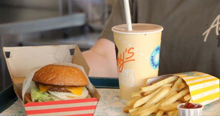 Lines Out the Door for Nation's First Organic Drive-Thru Restaurant