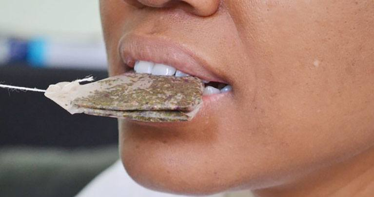 A Brilliant Way to Use Tea Bags for Teeth Your Dentist Won't Tell You