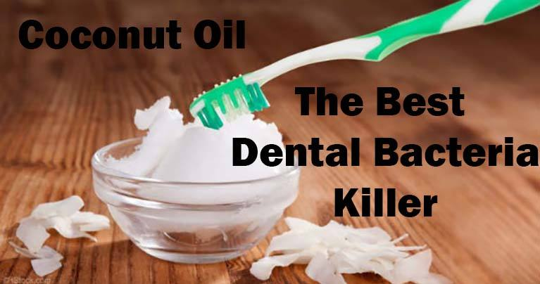 Scientists Prove Coconut Oil is the Best Dental Bacteria Killer