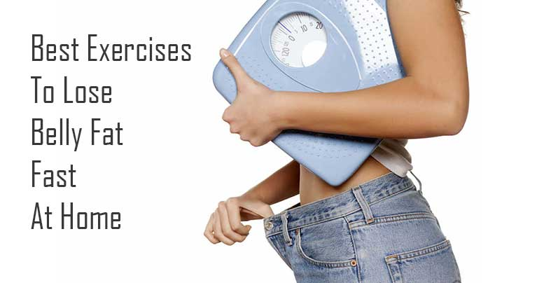 Attention Ladies! Best Exercises To Lose Belly Fat Fast at Home (Video)