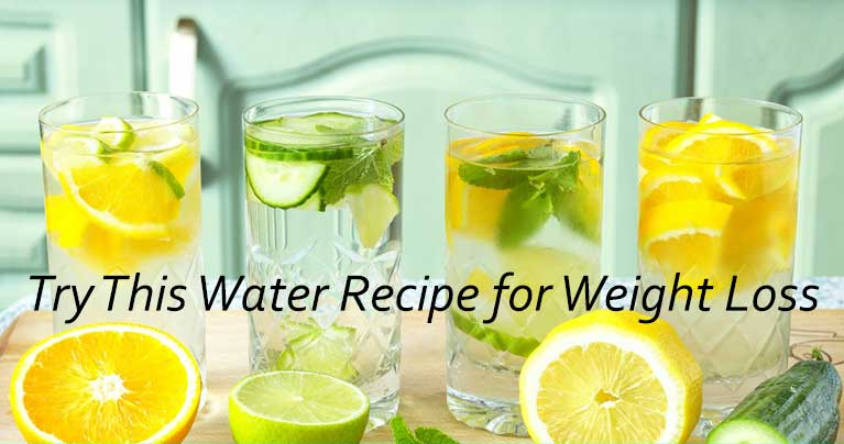 Cleanse Your Fat Using This Natural Water Recipe