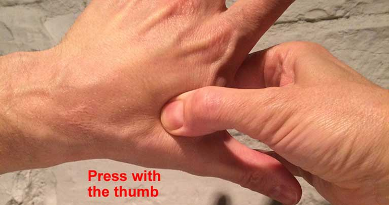 How Acupressure Can Relieve Headache and Stress in 30 Seconds