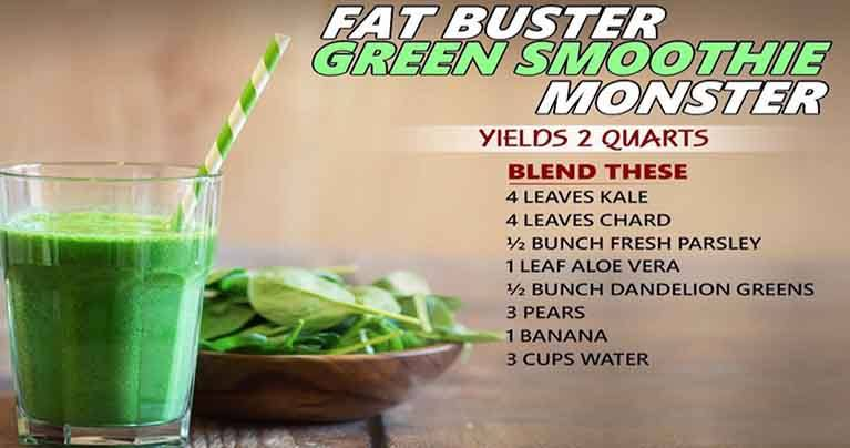 Let's Burn Fat Easily With These 6 Green Smoothies